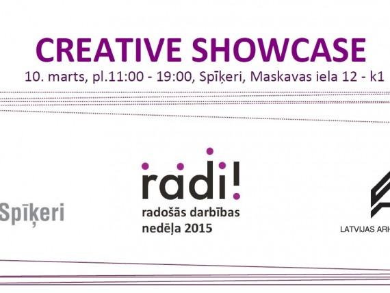 Creative industries forum Creative Showcase