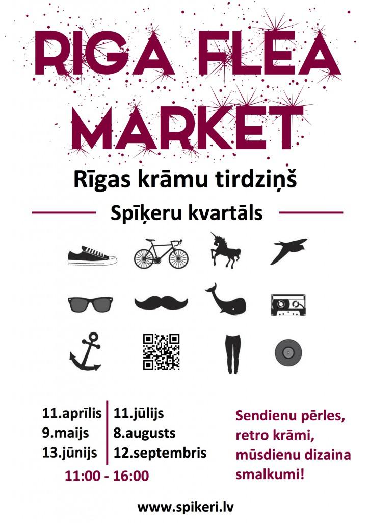 Riga Flea market 2015