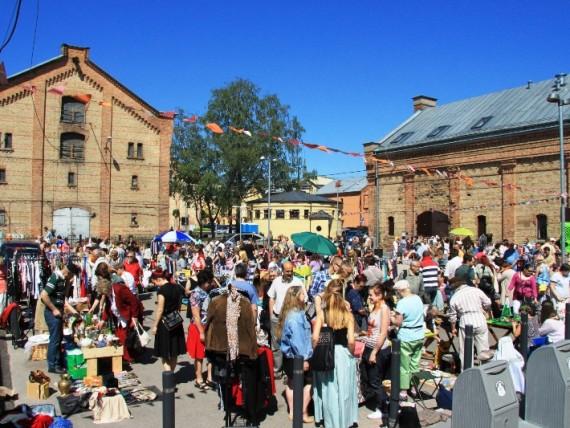 Riga Flea Market is back in town for new season