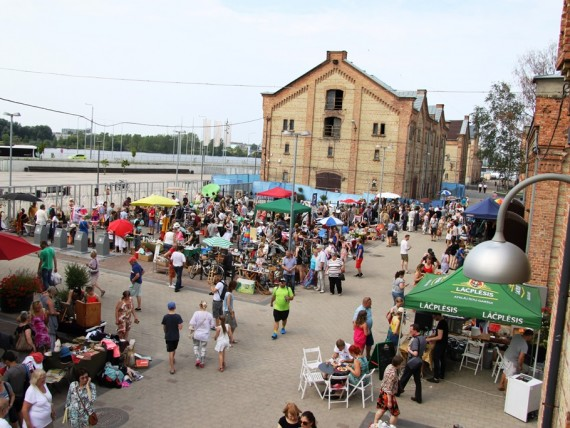 The last Riga Flea Market of this summer  will be held on 12 September