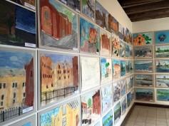 Summer urban art workshop exhibition in Spikeri