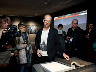 The opening event of exhibition DATA DRIFT