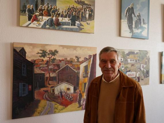 Exhibition by Feliks Mostowicz
