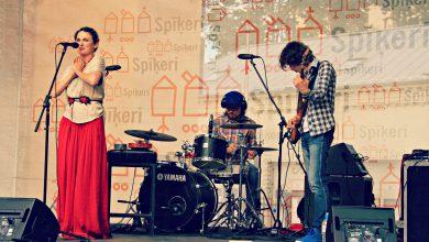 """Evgeniya Zima Band"" koncerts Spīķeros"