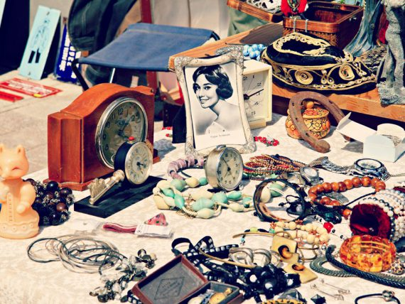 July Riga Flea Market in photos