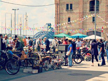 Aprīlī jauno sezonu Spīķeros uzsāks Rīgas krāmu tirgus