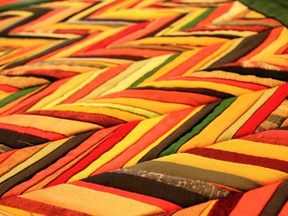 """Quilt exhibition """"Spīķeri mosaics"""""""