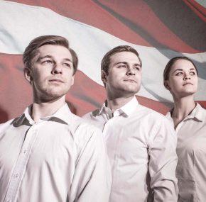 """Dirty Deal Teatro top Valtera Sīļa izrāde """"Būt nacionālistam"""""""