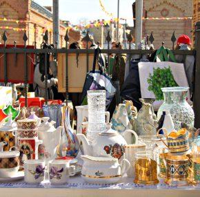 Insight in first Riga flea market 2017