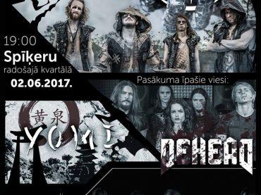 """Grupas Darrva albuma """"Laika Rats"""" prezentācijas koncerts"""