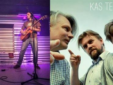 Čipsis & Dullais un Kas Tev par daļu Spīķeru brīvdabas koncertā