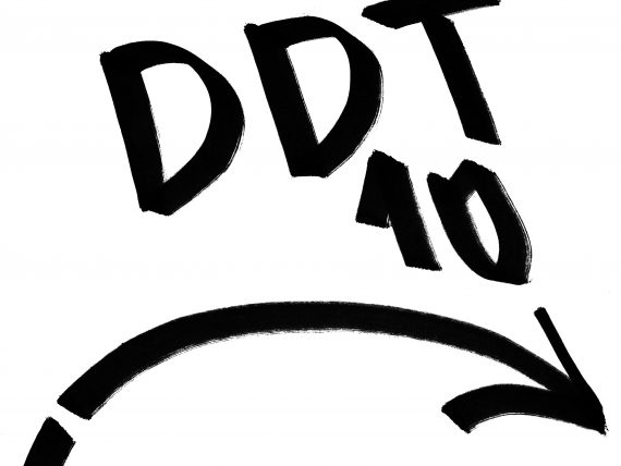 DDT desmitgades svinības