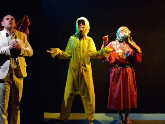 """""""Dramaturgu teātris"""" izrāde SUDRABA DAKŠIŅAS brīvdabas teātra izrāžu cikla ietvaros """"Nāc ārā!"""""""