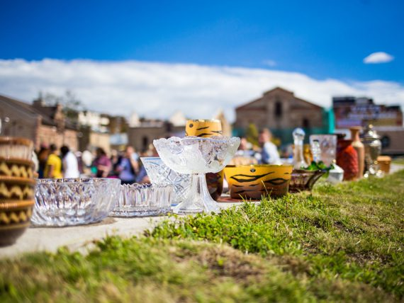 FOTO: Retro gadatirgus / Riga Flea Market festivāls
